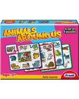 Animals Around Us Puzzle - Frank