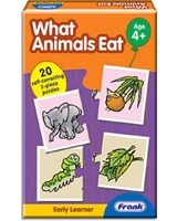 What Animals Eat Puzzle - Frank