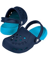Kids' Electro Clog Navy/Electric Blue 10400 - Crocs