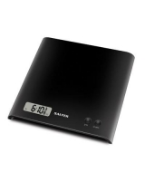 ARC Electronic Kitchen Scale 1066 BKDR08 - Salter