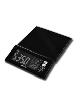 MaxView Electronic Kitchen Scale 1085BKDR - Salter