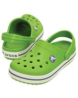 Kids' Crocband Parrot Green/White 10998 - Crocs