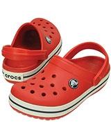 Kids' Crocband Flame/White 10998 - Crocs