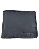Black Matt Genuine Leather Wallet 11-23-0761-01 - Oryx