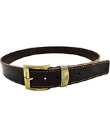 Dark Brown Genuine Leather Belt 4cm 11-40-1303-03 - Oryx