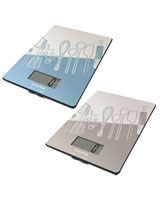 Utensil Design Glass Electronic Digital Kitchen Scale - Salter