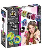 Glitter Glam Rings - Go Toys