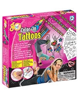 Color-in Tattoos - Go Toys