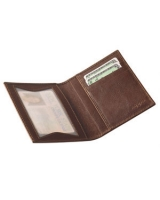 ID Wallet Case Brown Leather 122212 - Zippo