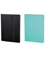 "Twotone Portfolio For Tablets Up 10.1"" Black/Turquoise - Hama"