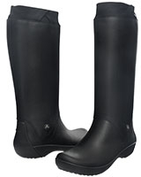 Women's RainFloe Boot Black/Black 12424 - Crocs