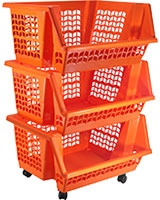 Express 3 Baskets for Vegetables And Fruits - Codil