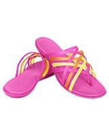 e6d7542b6ec6 Women s Huarache Flip-Flop Fuchsia Grapefruit Flip 14122 - Crocs    Women  Footwear    Footwear    Fashion    nefsak.com