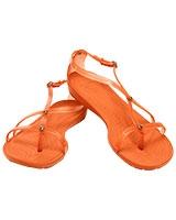 Women's Really Sexi Flip Tangerine/Tangerine Sandal 14175 - Crocs