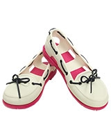 Women's Beach Line Boat Shoe White/Candy Pink 14261 - Crocs