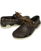 Men's Beach Line Boat Shoe Espresso/Stucco 14327 - Crocs