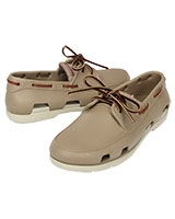 Men's Beach Line Boat Shoe Tumbleweed/Stucco 14327 - Crocs