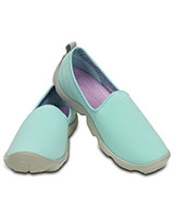 Women's Duet Busy Day Skimmer Ice Blue/Pearl White 14698 - Crocs