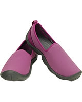 Women's Duet Busy Day Skimmer Viola/Graphite 14698 - Crocs