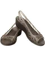 Women's Adrina III Mini Wedge Espresso/Espresso 14937 - Crocs