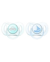 Mini Pacifiers Extra Small Orthodontic Two Pieces - Philips Avent