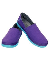 Women's Stretch Sole Loafer Ultraviolet/Electric Blue - Crocs