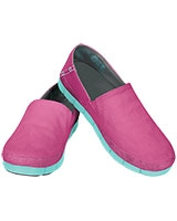 Women's Stretch Sole Loafer Vibrant Violet/Pool - Crocs