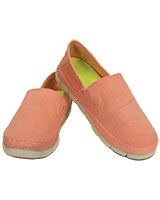 Women's Stretch Sole Loafer Melon/Stucco - Crocs