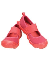 Girls' Duet Busy Day Mary Jane Children's Coral/Raspberry - Crocs