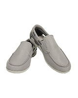 Men's Beach Line Boat Slip-on Smoke/Pearl White - Crocs