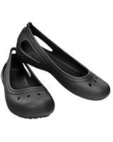 Girls' Kadee Flat Black 15610 - Crocs