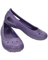 Girls' Kadee Flat Blue Violet 15610 - Crocs