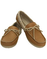 Women's Wrap ColorLite Loafer Hazelnut/Tumbleweed 15753 - Crocs