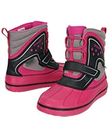 Kids' AllCast Waterproof Duck Boot  Candy Pink/Black 15809 - Crocs