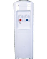 2 Taps Hot & Cold Taps with safety lock Water Dispenser 16-L White - Bergen