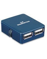 Hi-Speed USB Micro Hub 160605 - Manhattan
