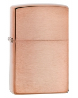 Brushed Solid Copper 161 - Zippo