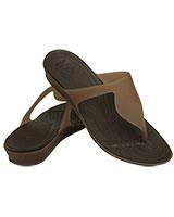 Women's Rio Flip Bronze/Espresso 16266 - Crocs