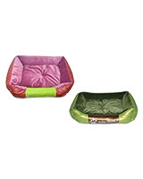 Pet Square Fur Bed X Large Size 70 x 60 cm - ZooGo
