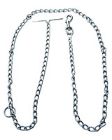 Dog Chain Silver XXLarge Size 180 cm 19-1001 - AM
