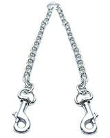 Dual Dog Chain Silver Medium Size 30 cm 19-1480 - AM