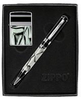 Oyster Pen & Lighter Gift Set 24823 - Zippo