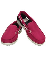 Kids' Beach Line Hybrid Boat Shoe Candy Pink/Navy 200036 - Crocs