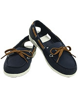 Women's Beach Line Hybrid Boat Shoe Navy/White 200109 - Crocs