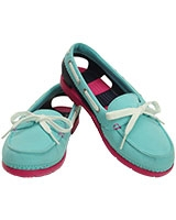 Women's Beach Line Hybrid Boat Shoe Pool/Nautical Navy 200109 - Crocs