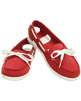 Women's Beach Line Hybrid Boat Shoe  Pepper/White 200109 - Crocs