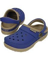 Kids' ColorLite Clog Cerulean Blue/Tumbleweed 200363 - Crocs
