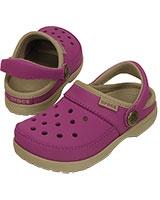 Kids' ColorLite Clog Viola/Tumbleweed 200363 - Crocs