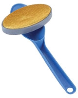 Rotating Oval Clothes Textile Brush - Metaltex