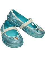 Girls' Keeley Frozen Flat Pool Blue 200919 - Crocs